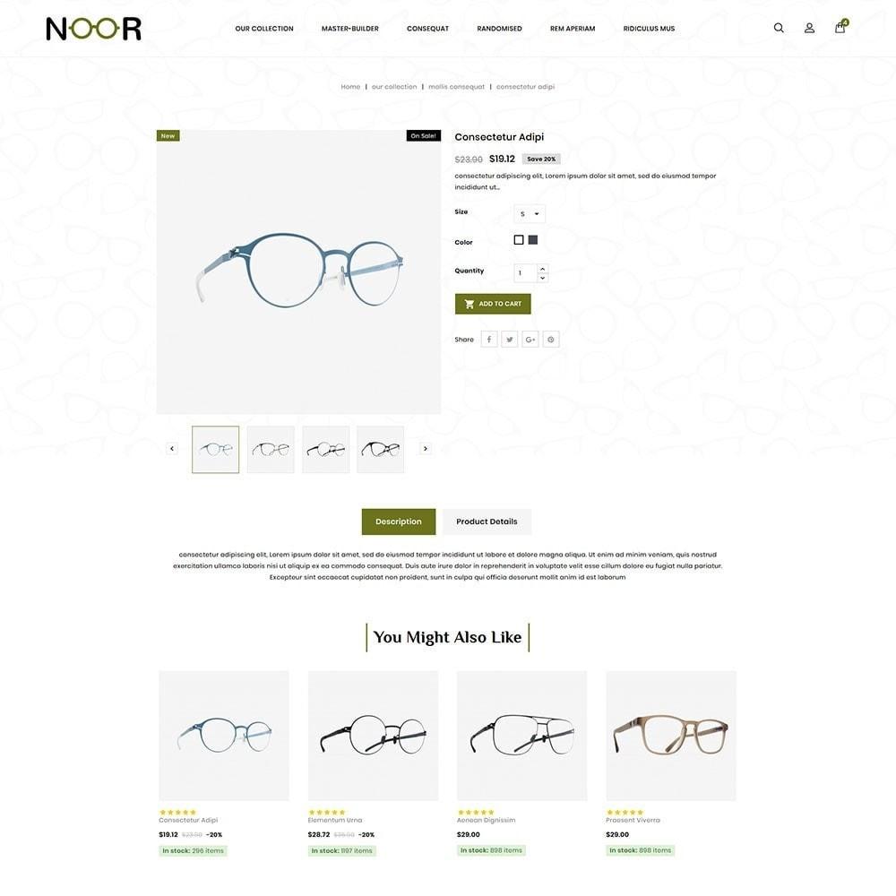theme - Electronics & Computers - Noor - The Eyeglass - 6