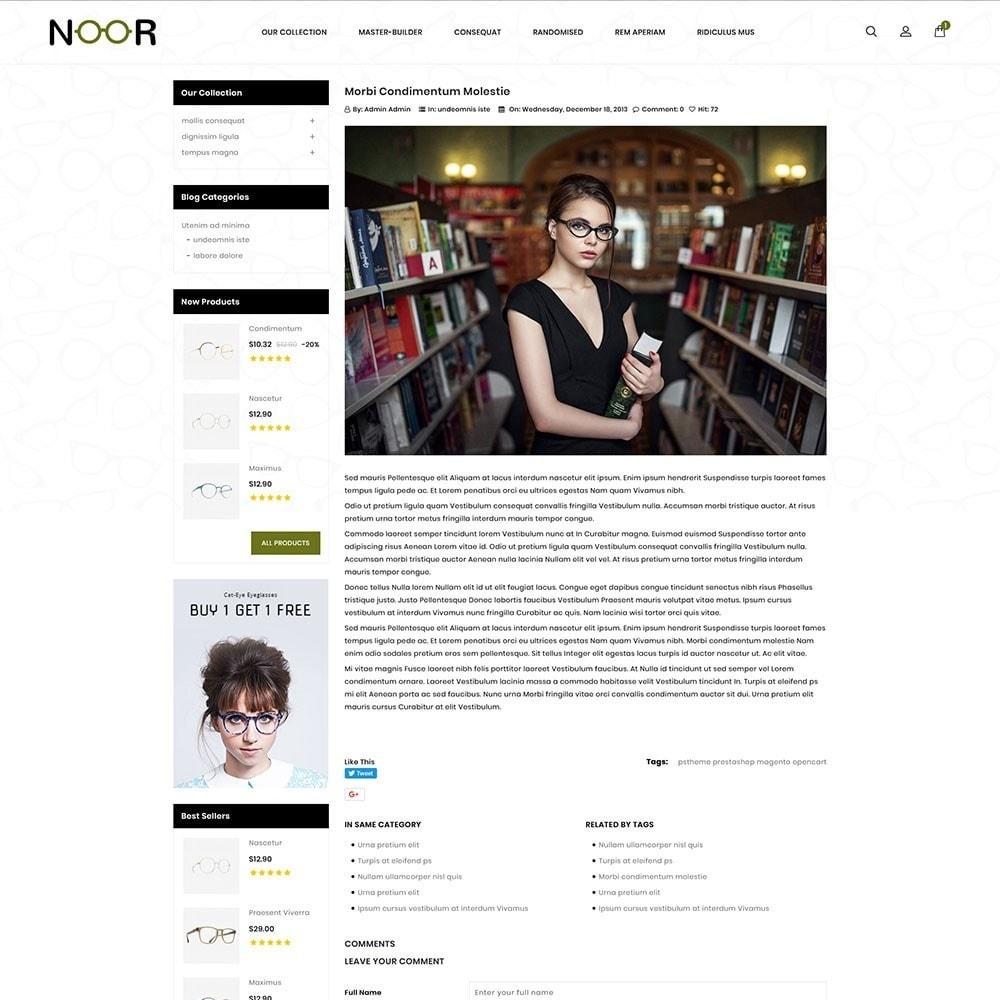 theme - Electronics & Computers - Noor - The Eyeglass - 7