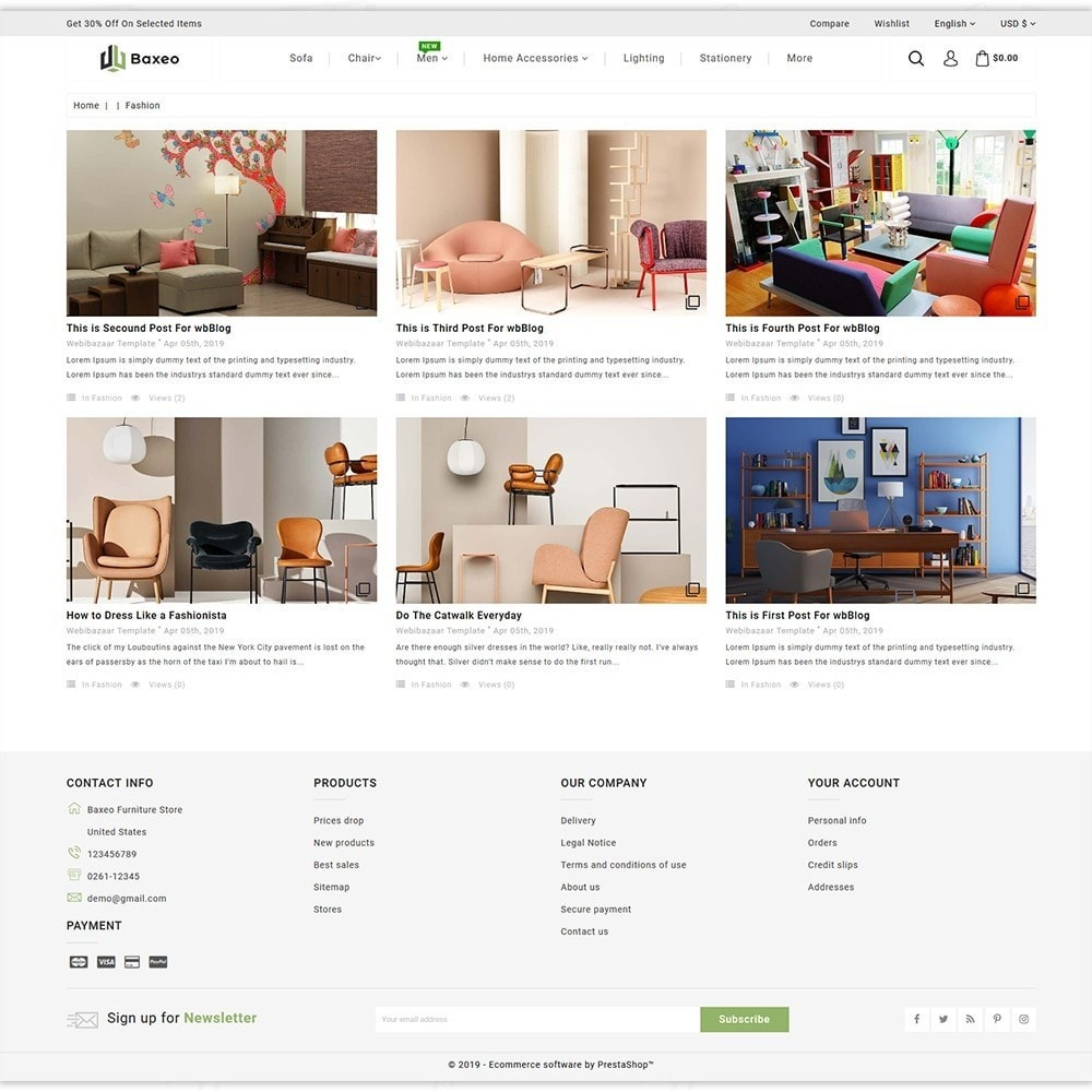 theme - Heim & Garten - Baxeo - The Furniture Store - 6