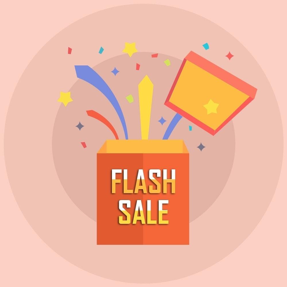 module - Ventes Flash & Ventes Privées - Knowband - Compte à rebours Flash Sale - 1
