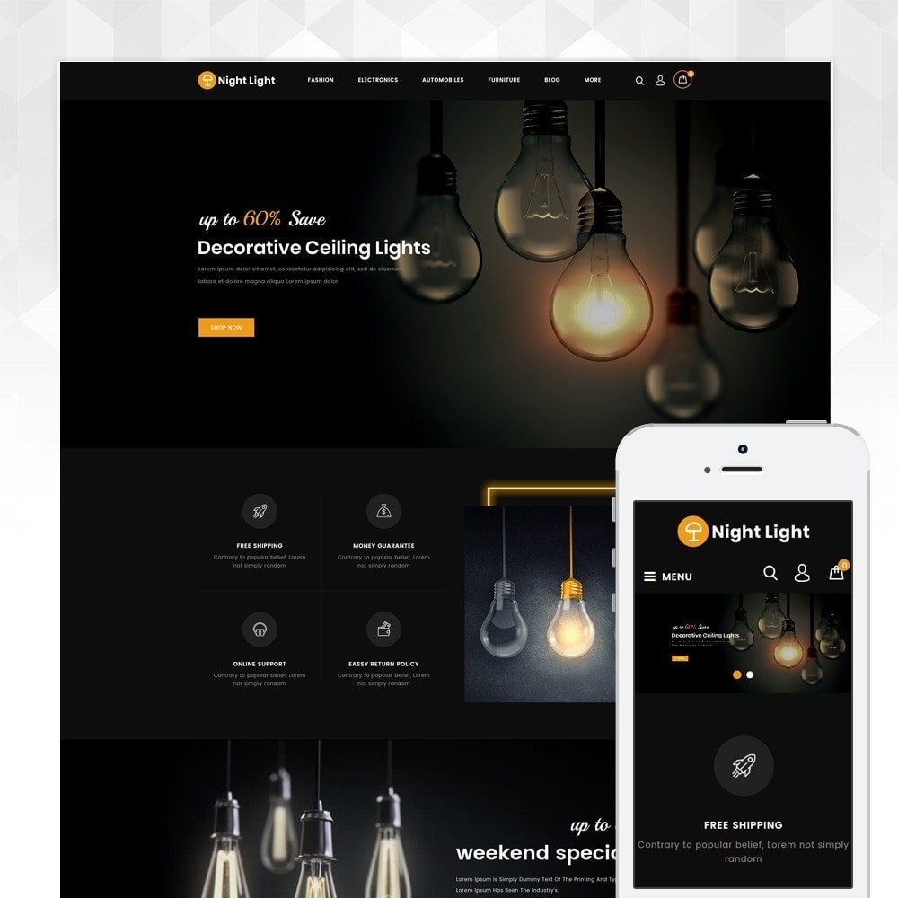 theme - Huis & Buitenleven - Night Light - Lighting Store - 1