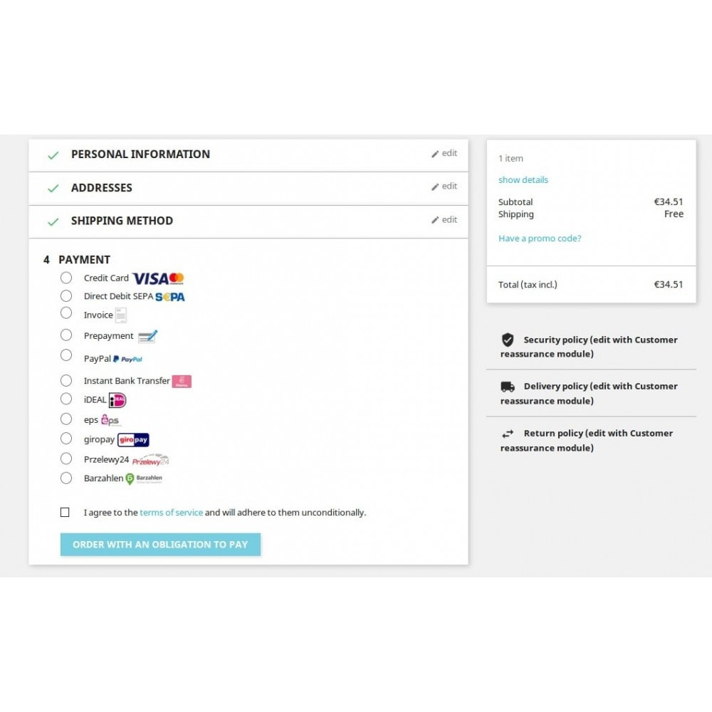 module - Payment by Card or Wallet - Novalnet Payment - 4