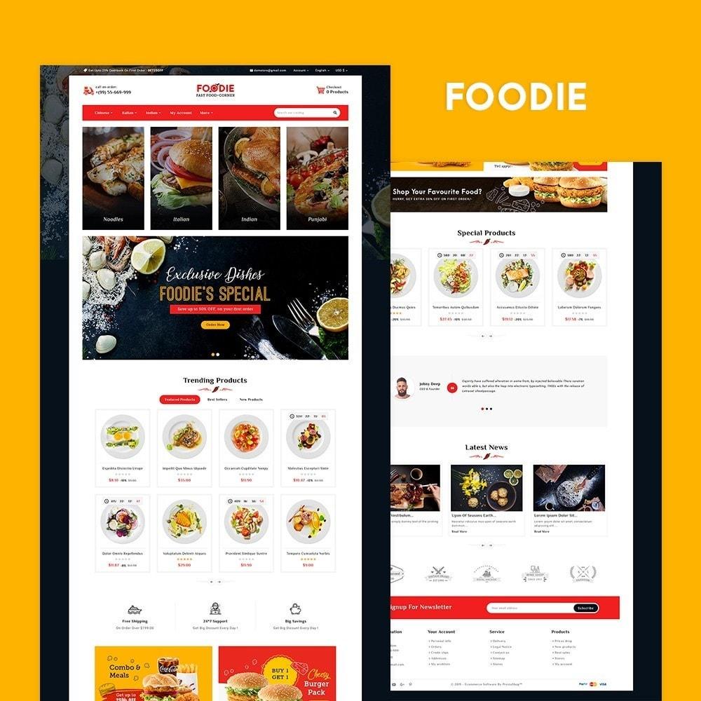 theme - Food & Restaurant - Foodie - Fast Food Corner - 2