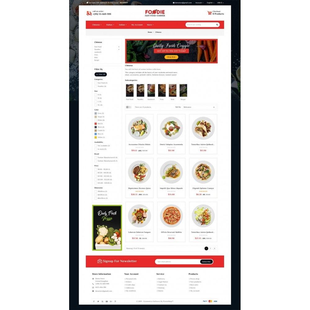 theme - Food & Restaurant - Foodie - Fast Food Corner - 3