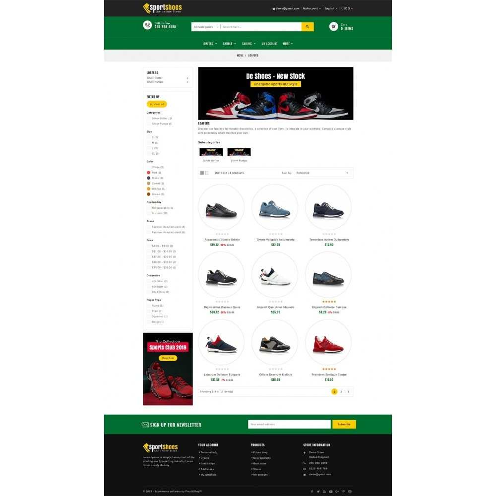 theme - Fashion & Shoes - Sports Shoes & Footwear - 3