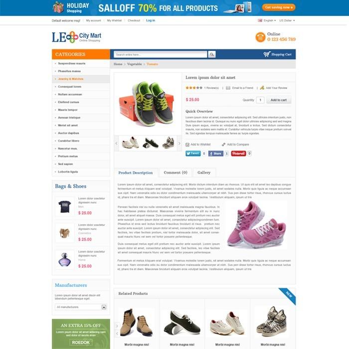 theme - Мода и обувь - Leo City Mart - 3