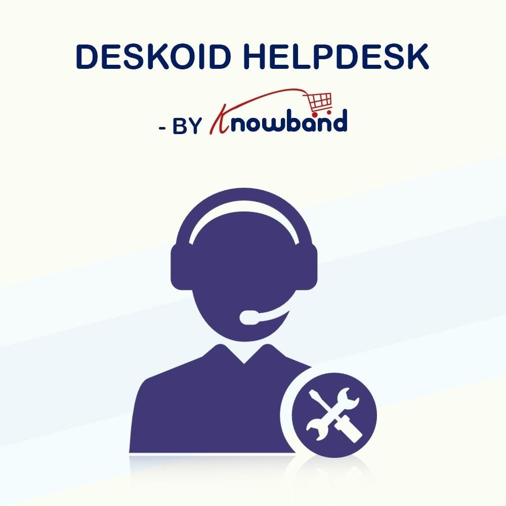 module - Serwis posprzedażowy - Knowband - Deskoid Helpdesk - 1