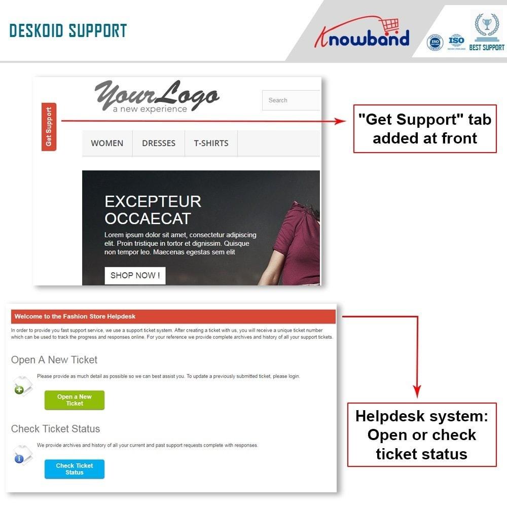 module - Kundenservice - Deskoid Helpdesk - 8