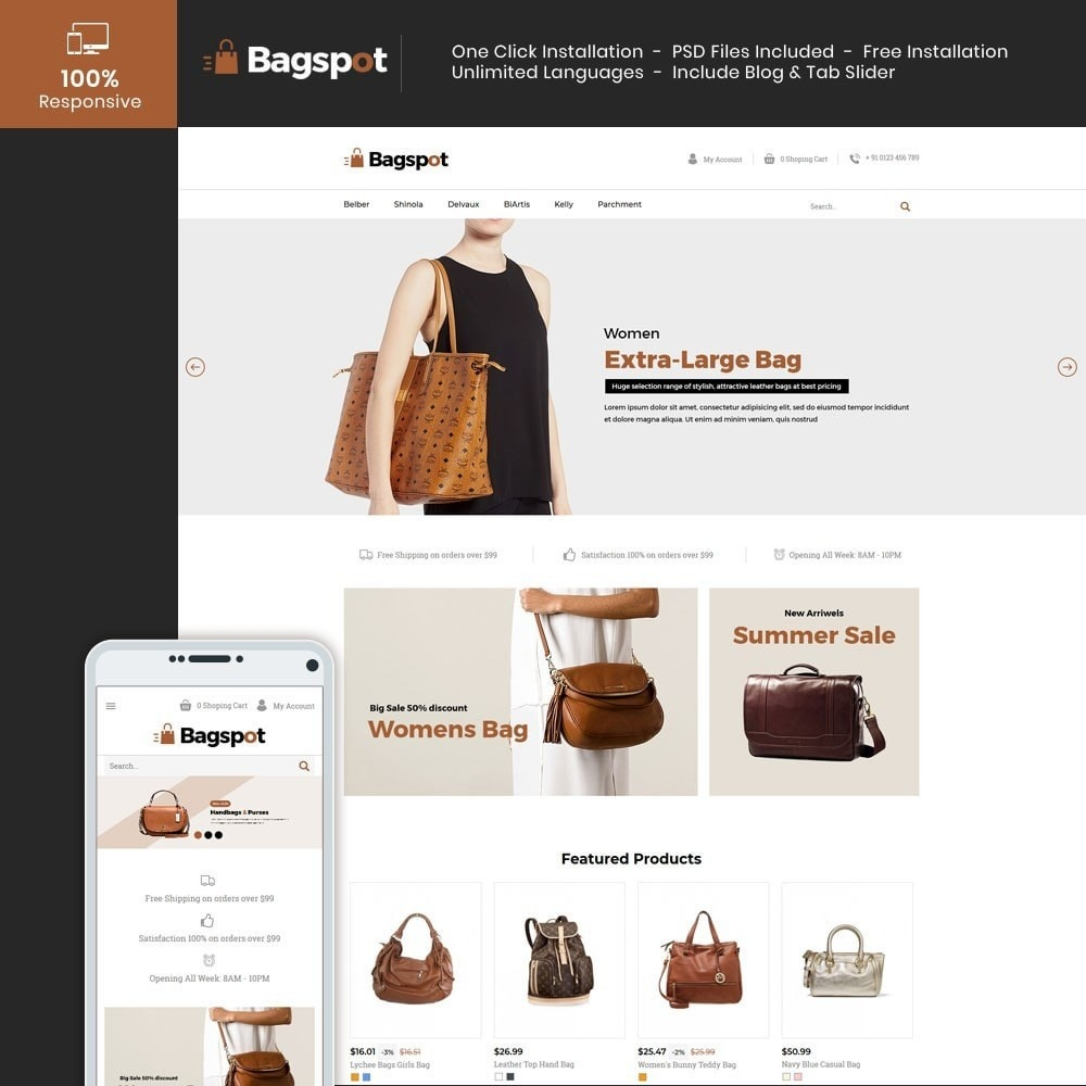theme - Moda & Obuwie - Bagspot - Bag Fashion Store - 2