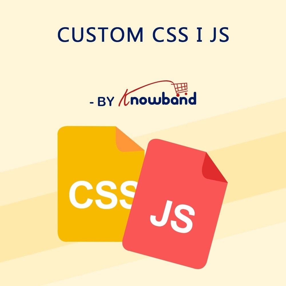 module - Personalizacja strony - Knowband - Custom CSS and JS - 1