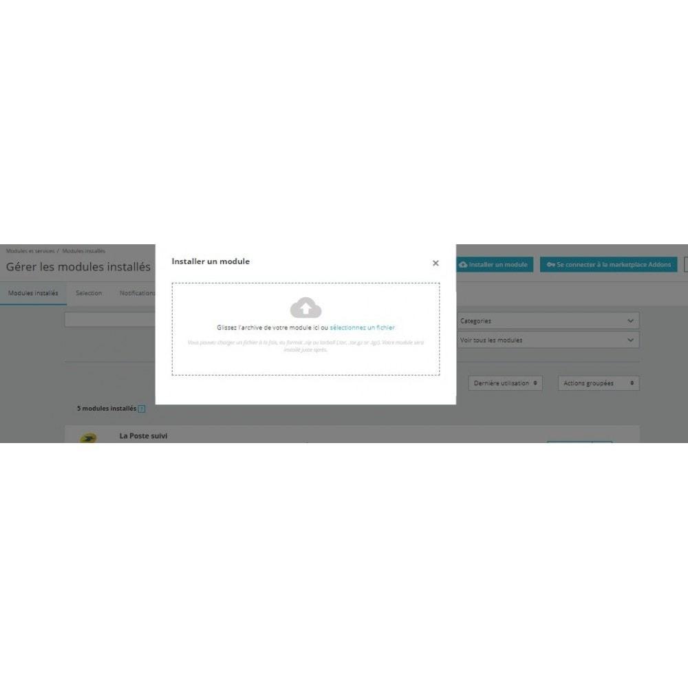 module - Gestion des Commandes - La Poste - Suivi automatique de vos commandes - 2