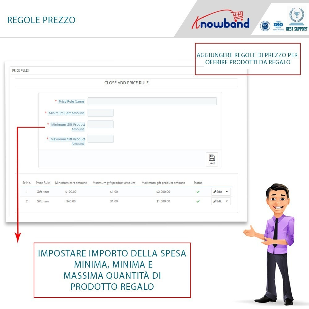 module - Promozioni & Regali - Knowband - Gift the product - 4