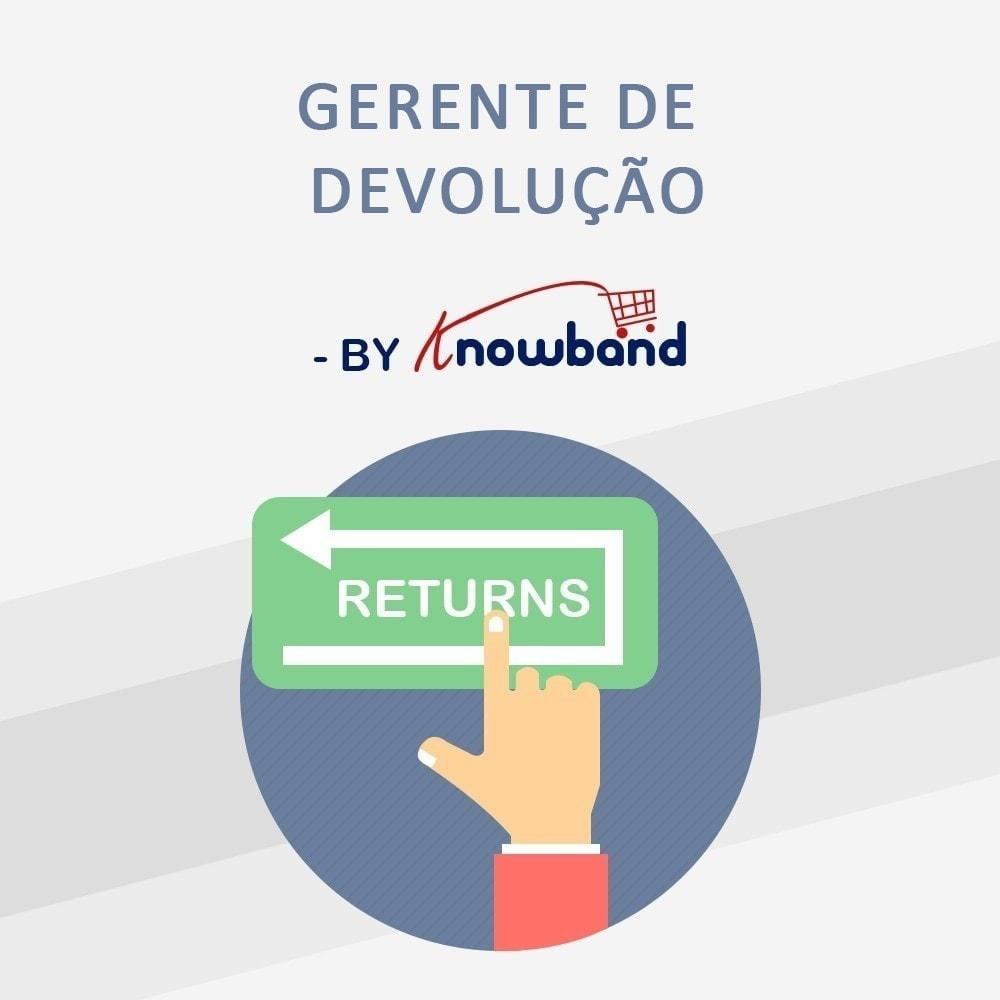 module - Servizio post-vendita - Gestore Ordini di Restituzione - 1