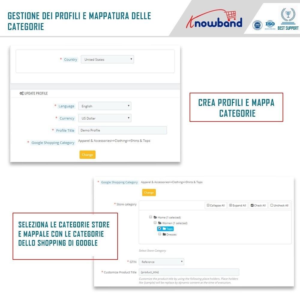 module - Comparatori di prezzi - Google Shopping (Google Merchant Centre) - 3