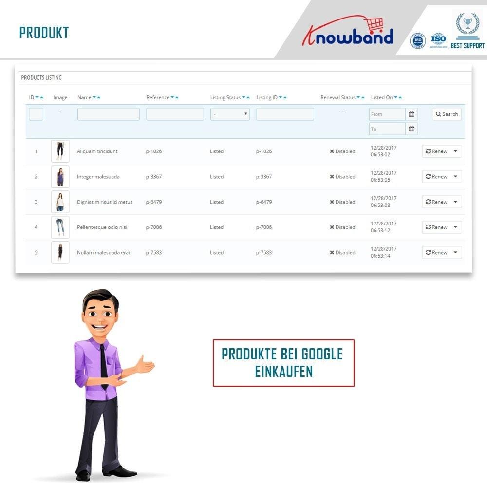 module - Preisvergleiche - Google Shopping (Google Merchant Centre) - 3