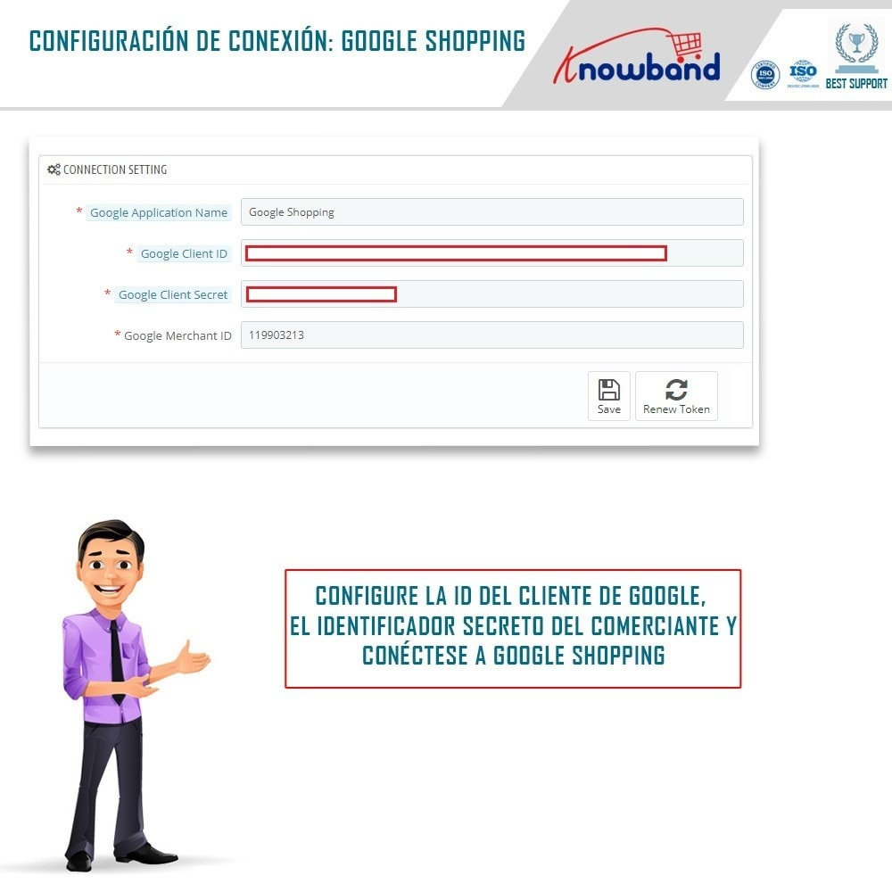 module - Comparadores de Precios - Google Shopping (Google Merchant Centre) - 1