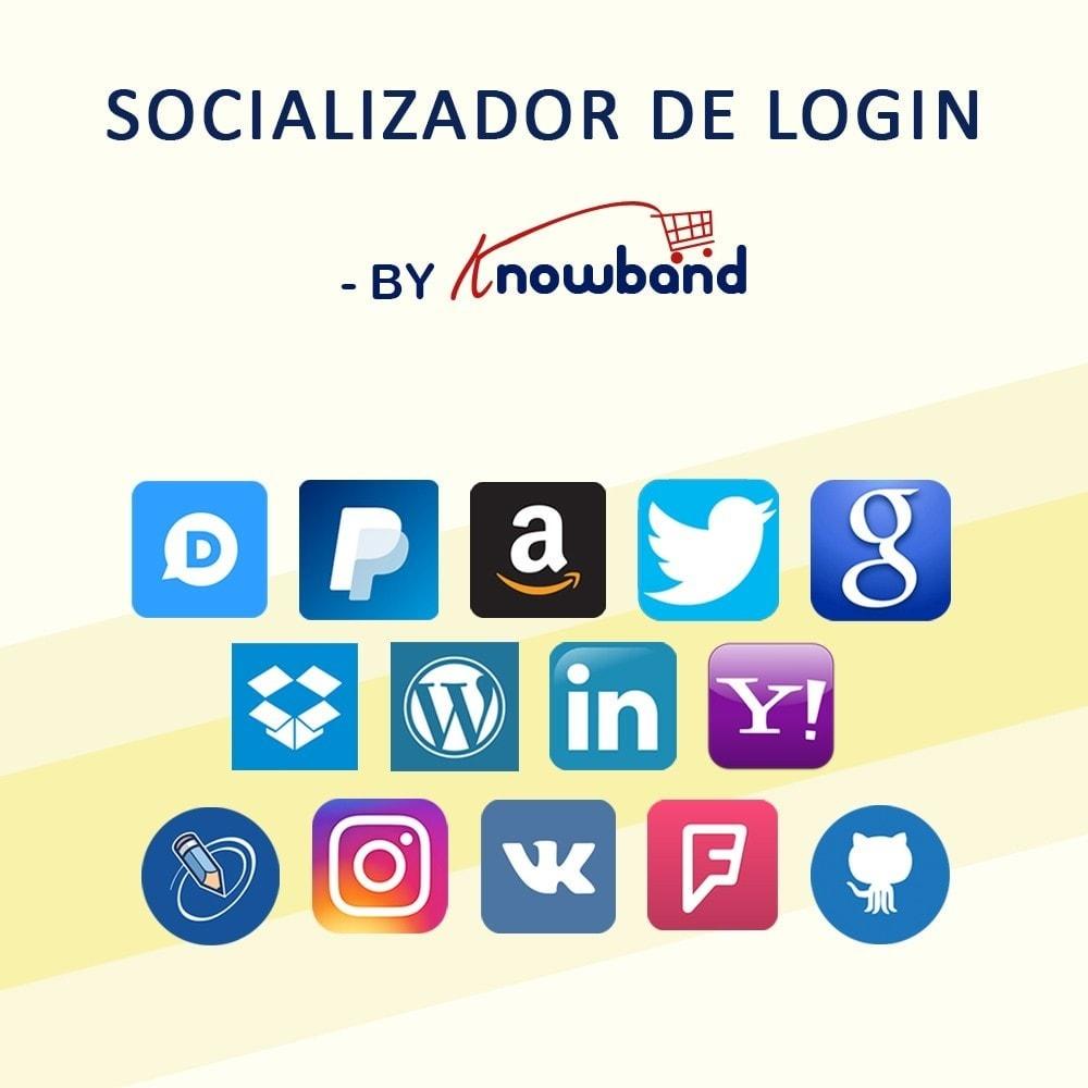bundle - Compartilhamento & Comentários - Social Pack - Offer easy login,Increase social presence - 1