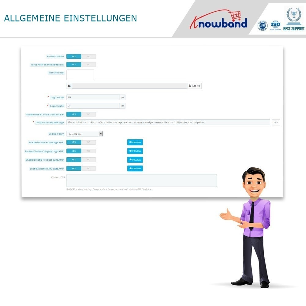 module - Mobile Endgeräte - Knowband - Accelerated Mobile Pages (AMP) - 3