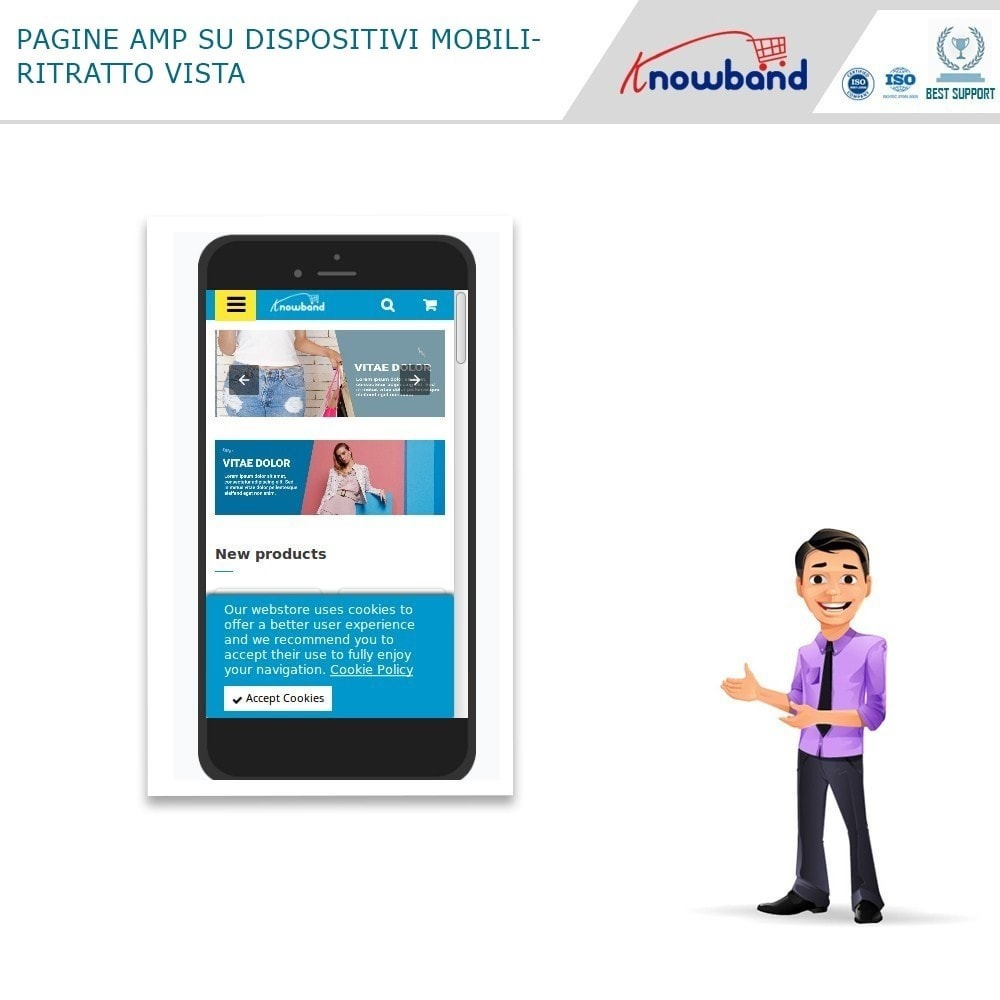 module - Dispositivi mobili - Knowband - Accelerated Mobile Pages (AMP) - 5