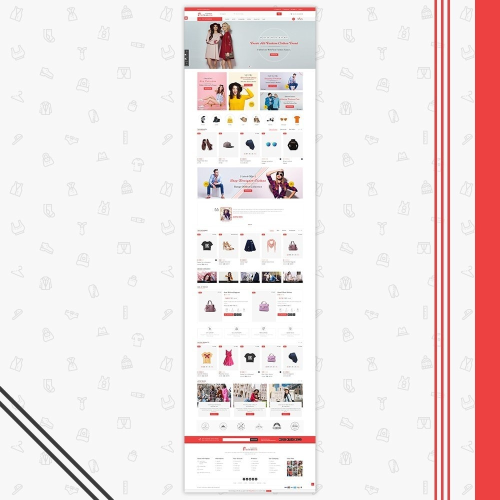 theme - Mode & Chaussures - FashionIsta Multistore - 2