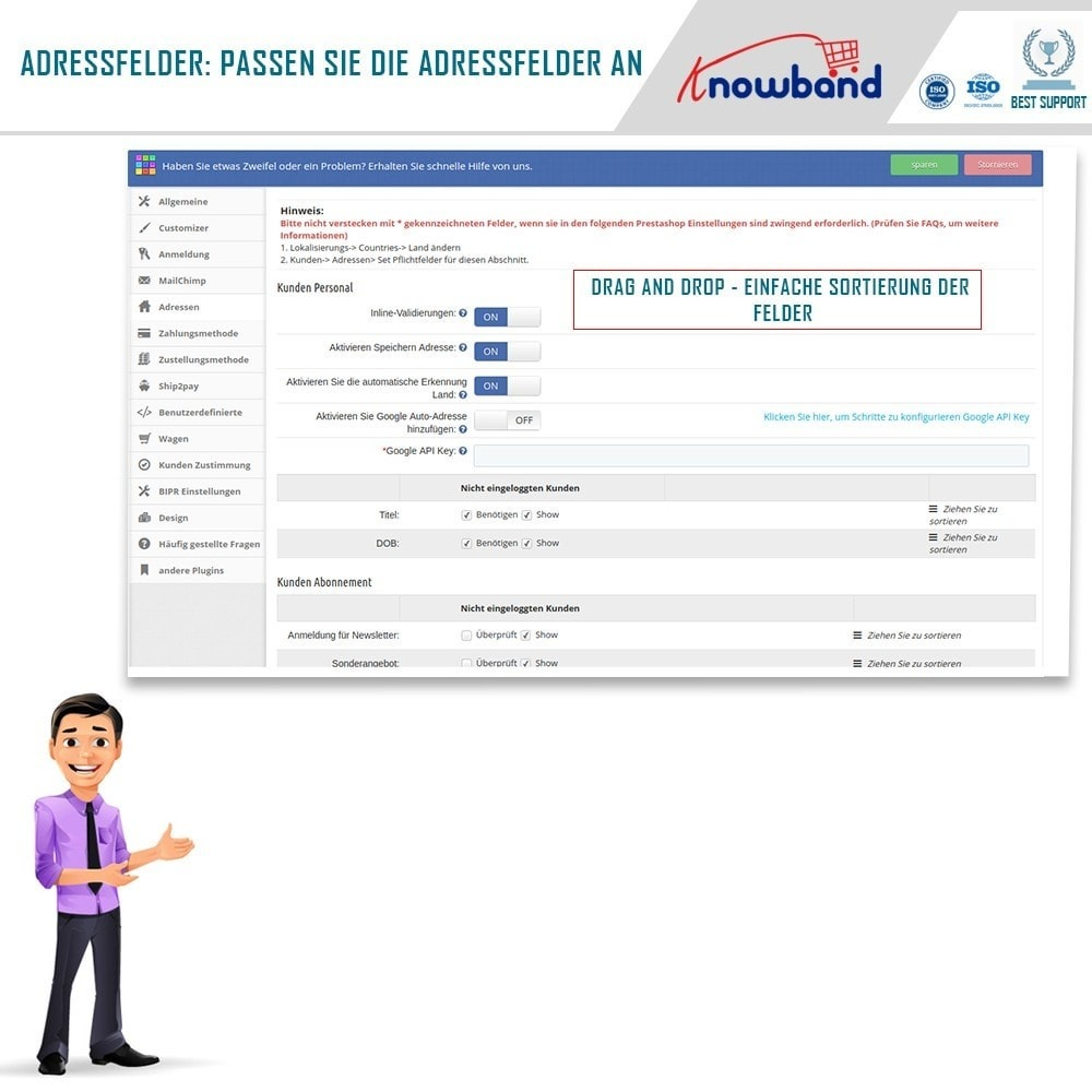 module - Express Checkout Prozesse - One Page Checkout, Social Login & Mailchimp - 5