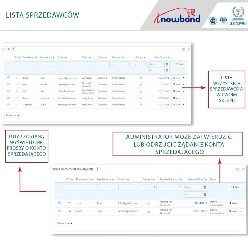 module - Stworzenia platformy handlowej - Knowband - Multi Vendor Marketplace - 7