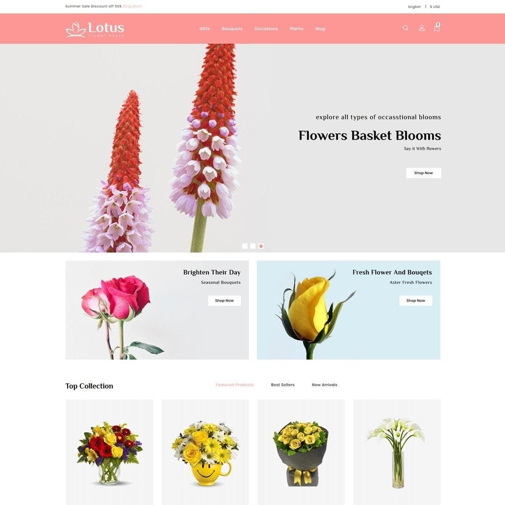 theme - Prezenty, Kwiaty & Uroczystości - Lotus Flower House - 2