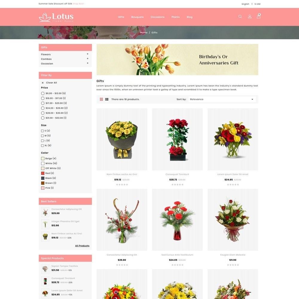 theme - Prezenty, Kwiaty & Uroczystości - Lotus Flower House - 3