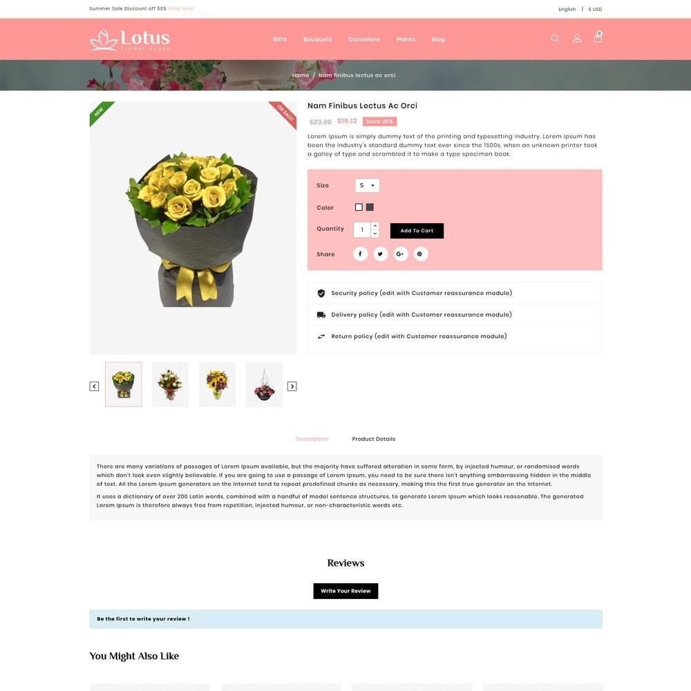 theme - Prezenty, Kwiaty & Uroczystości - Lotus Flower House - 4