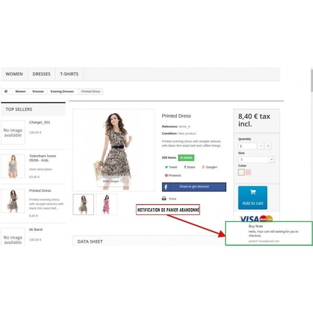 module - Promotions & Cadeaux - Notifications Push Web - 2