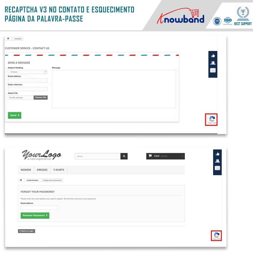 bundle - Segurança & Acesso - Security Pack - reCaptcha, Private Shop, Block Spam - 4