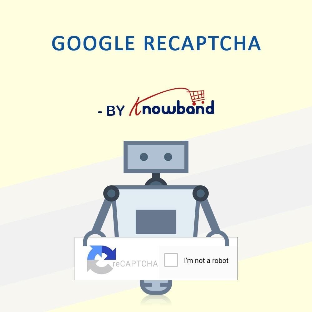 module - Sicherheit & Berechtigungen - Google reCaptcha - 1