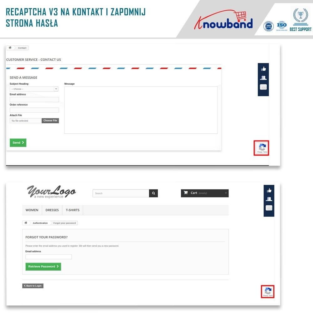 module - Bezpieczeństwa & Dostępu - Google reCaptcha - 4