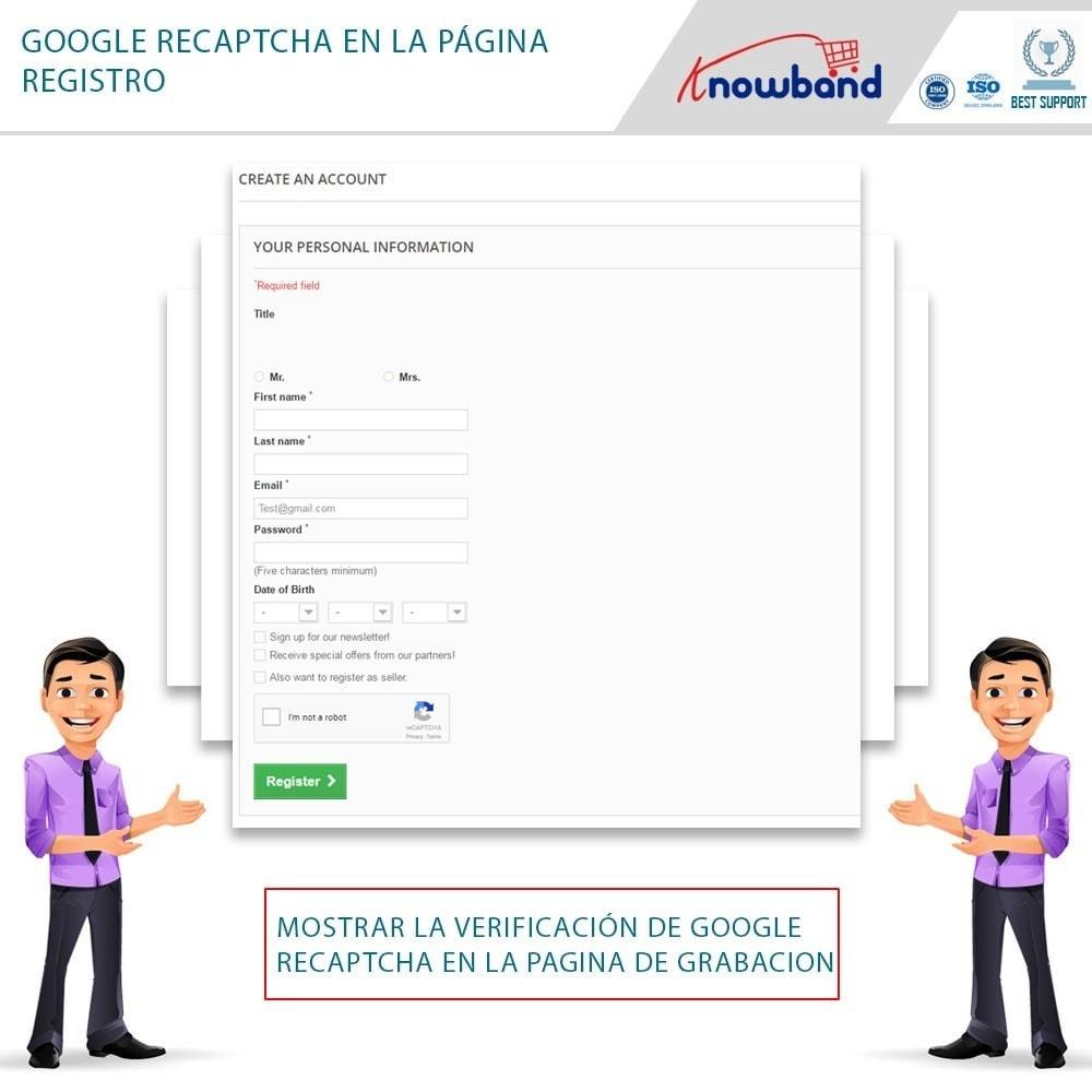 bundle - Seguridad y Accesos - Security Pack - reCaptcha, Private Shop, Block Spam - 3