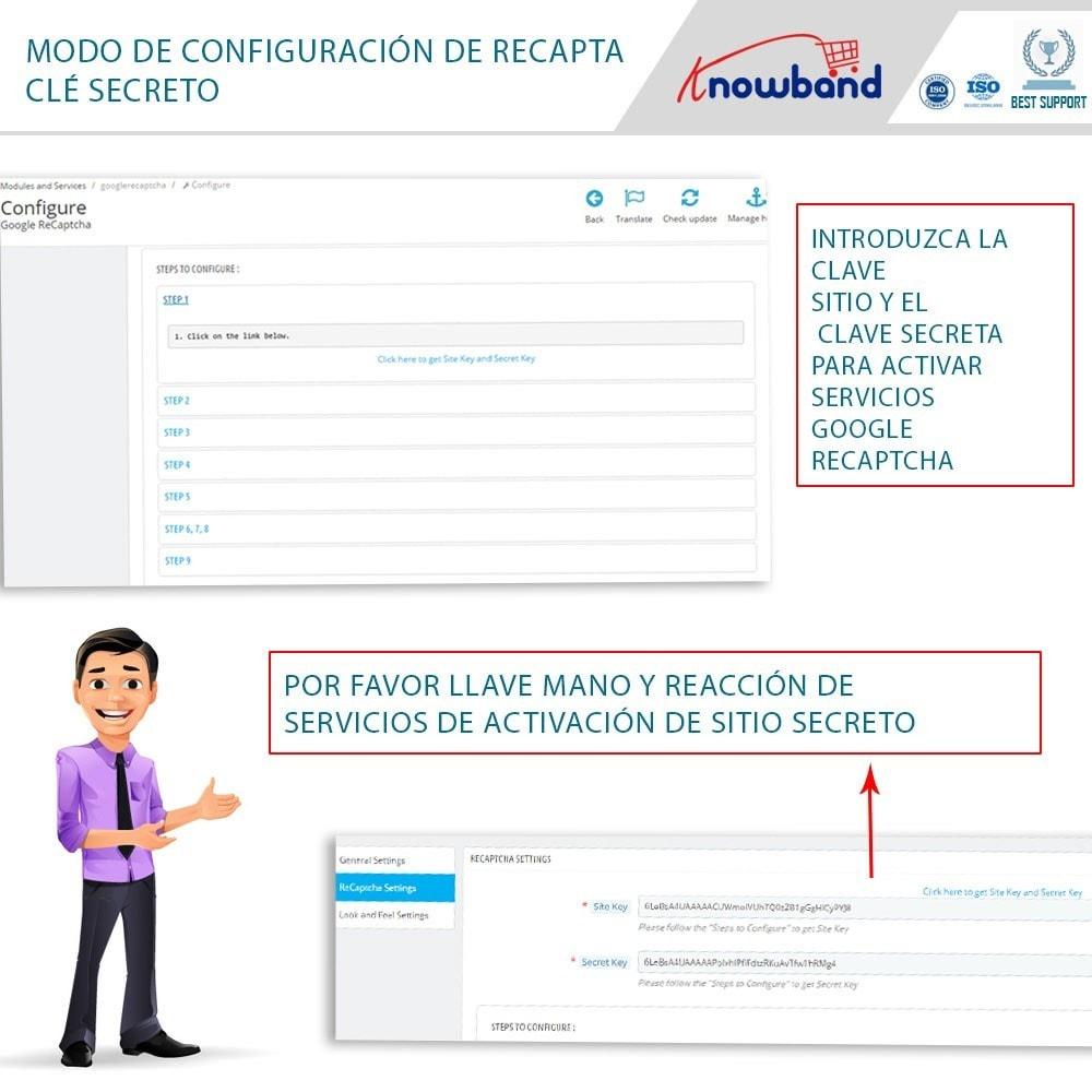 bundle - Seguridad y Accesos - Security Pack - reCaptcha, Private Shop, Block Spam - 6