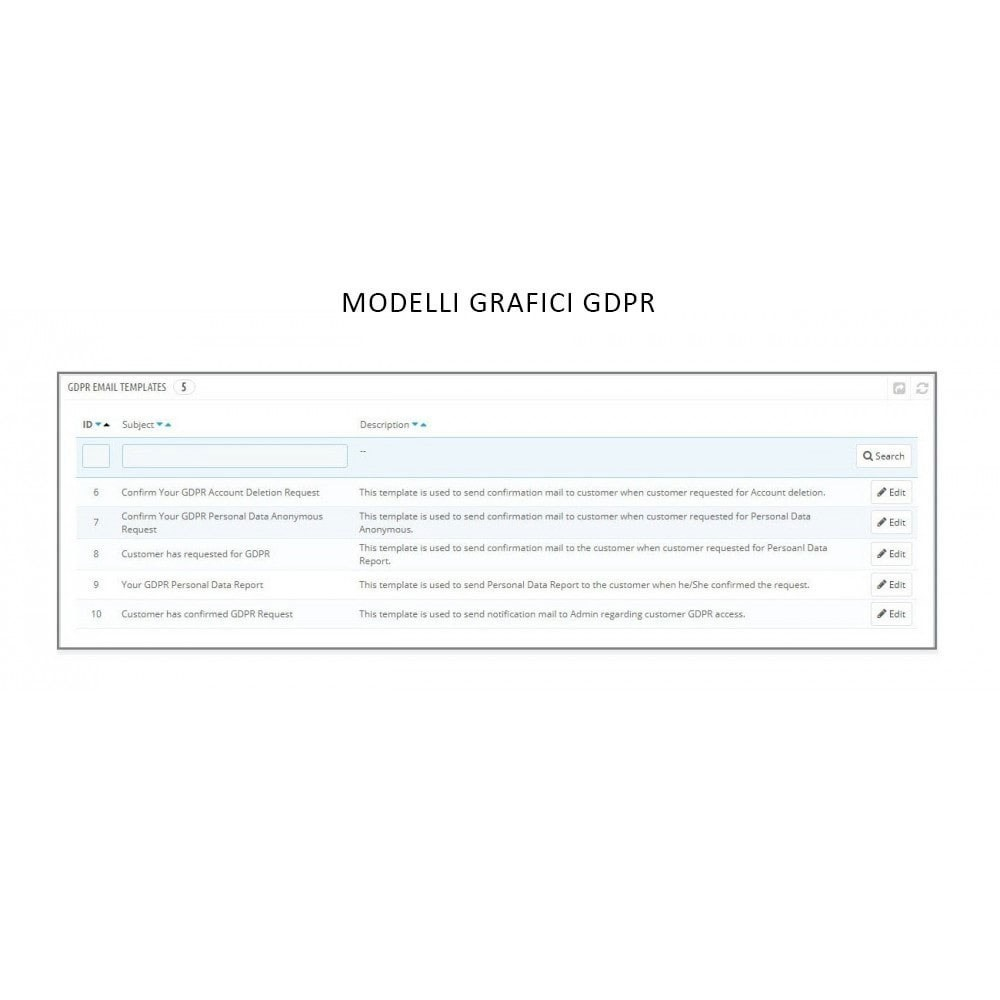 module - Legale (Legge Europea) - Knowband - GDPR - Rights of Individuals - 14