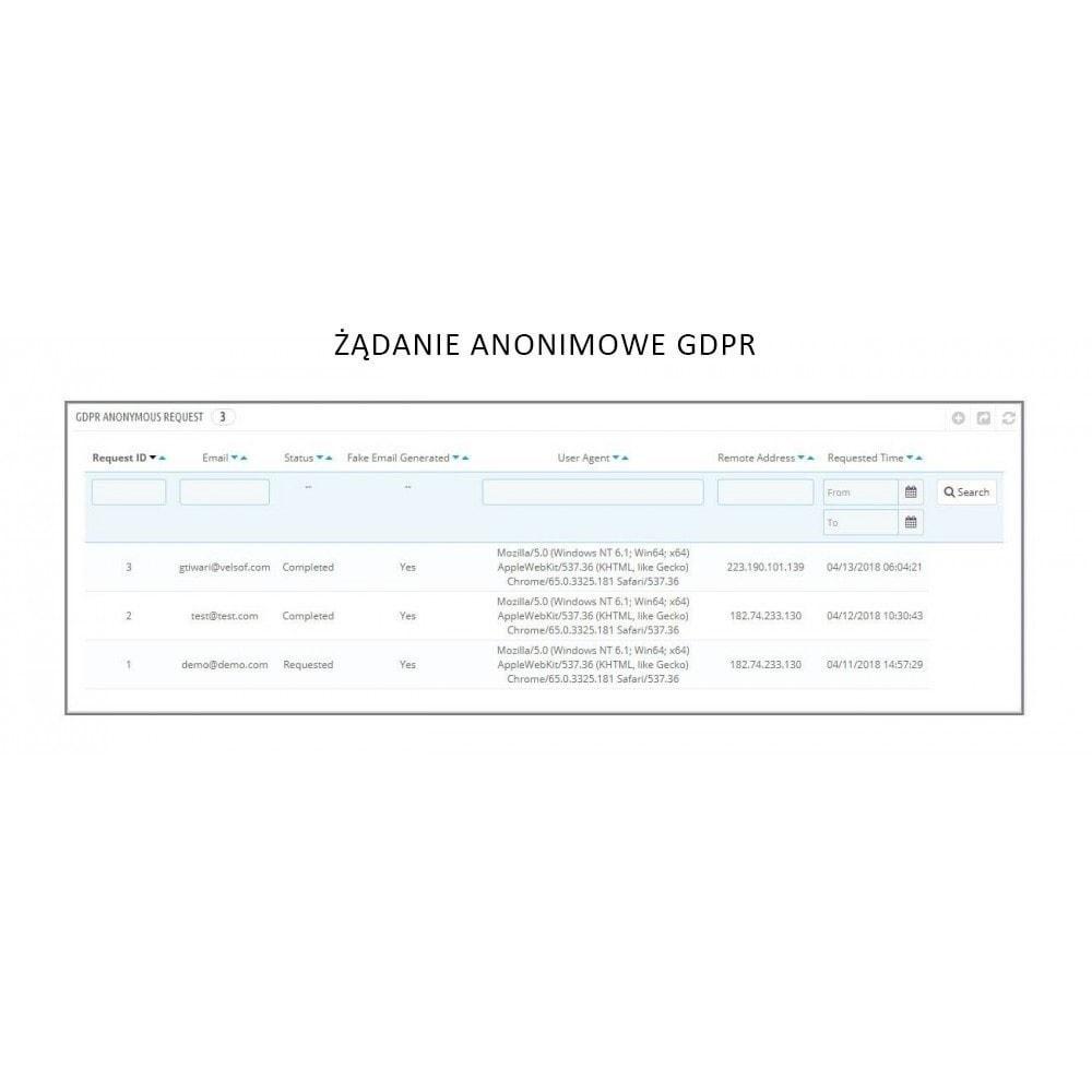 module - Wzmianki prawne - Knowband - GDPR - Rights of Individuals - 9