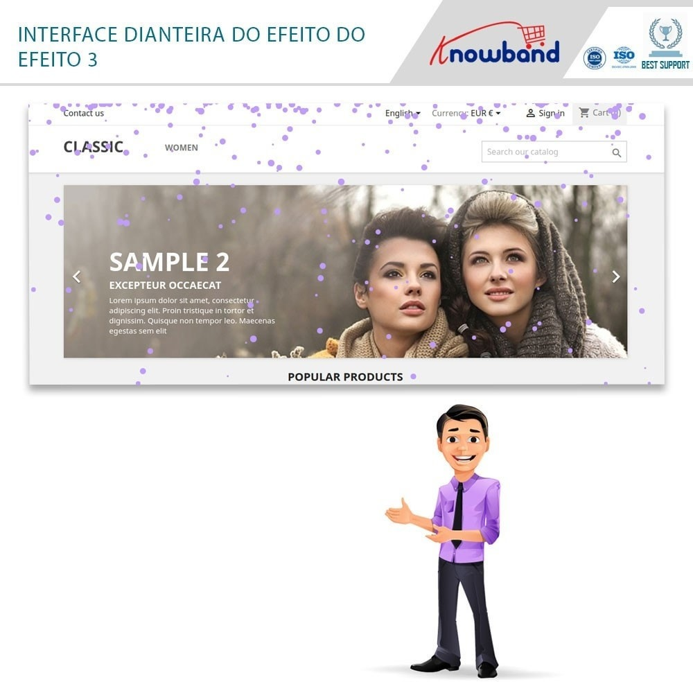 module - Personalização de página - Knowband - Website Decoration Effects - 2