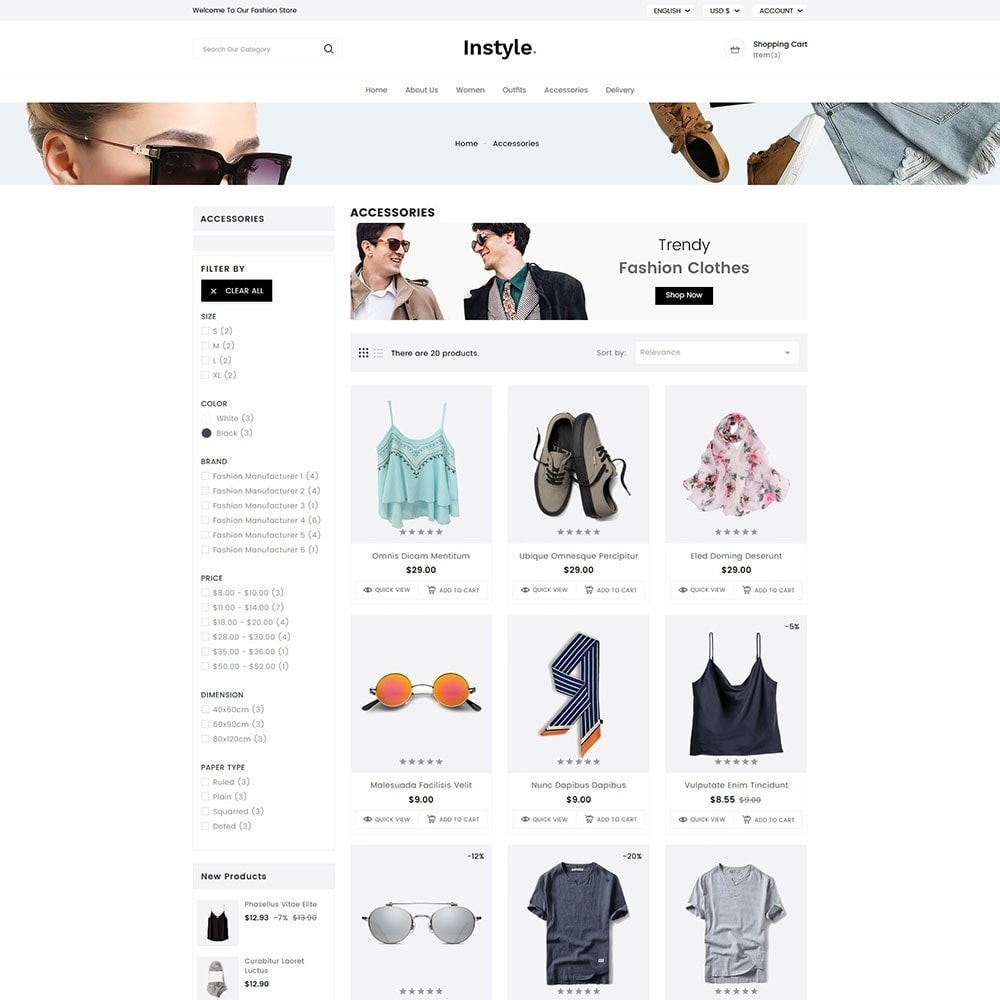 theme - Moda & Obuwie - InStyle Fashion - 4