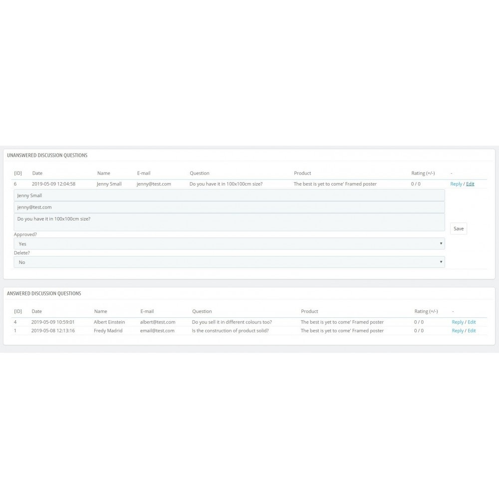 module - Zusatzinformationen & Produkt-Tabs - Product Page Discussion - 4