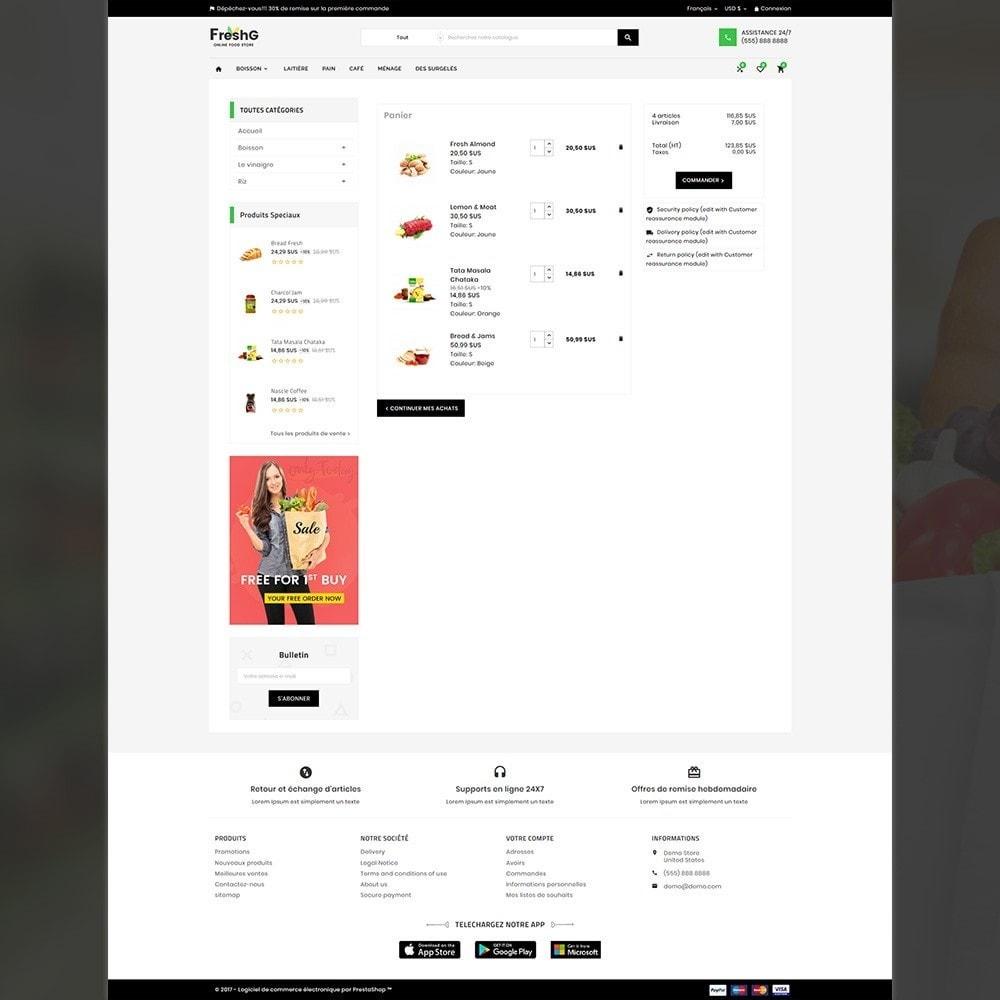 theme - Alimentation & Restauration - Épicerie FreshG Superstore v3 - 6