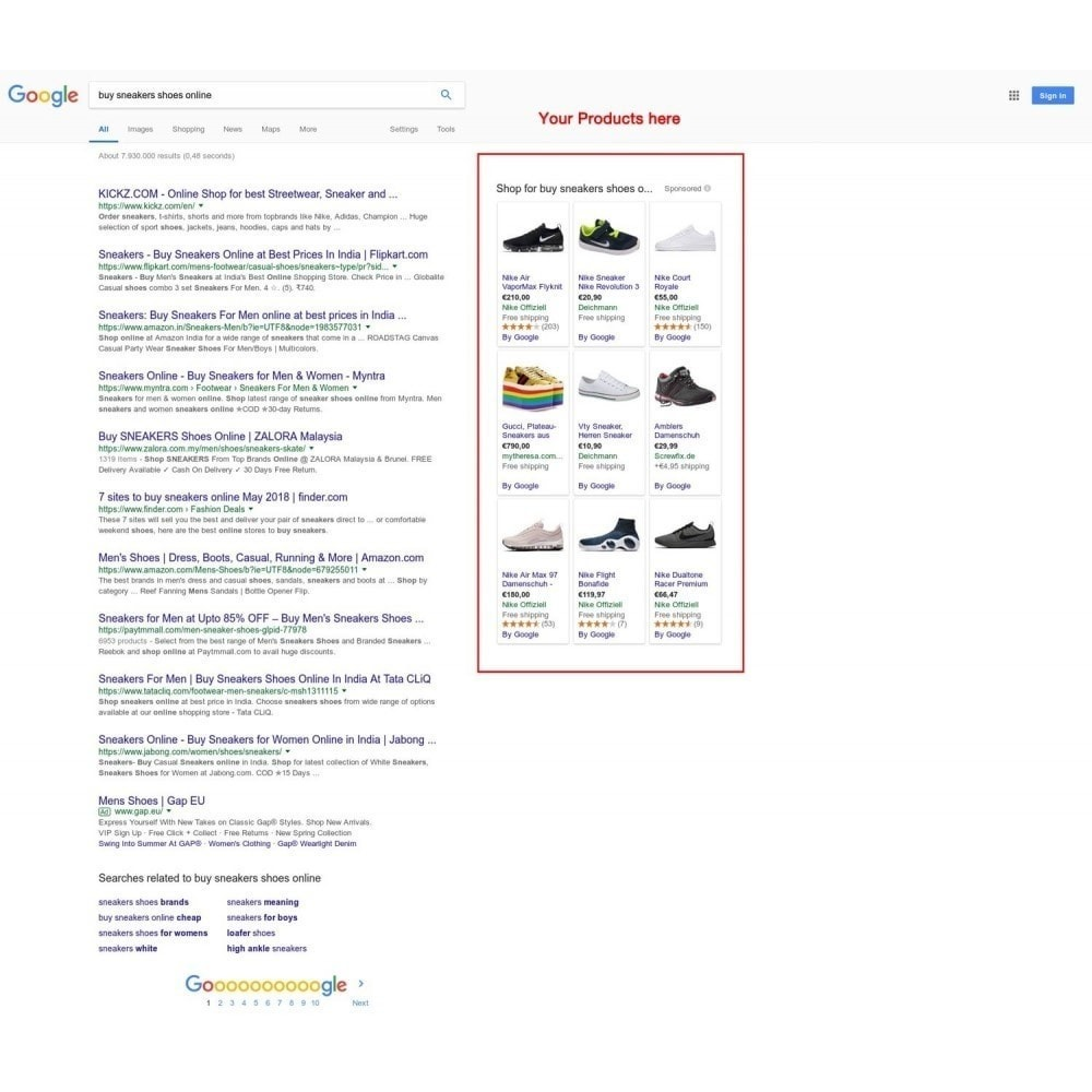module - Comparadores de Precios - Google Merchant Center (Google Shopping Feed) PRO - 2