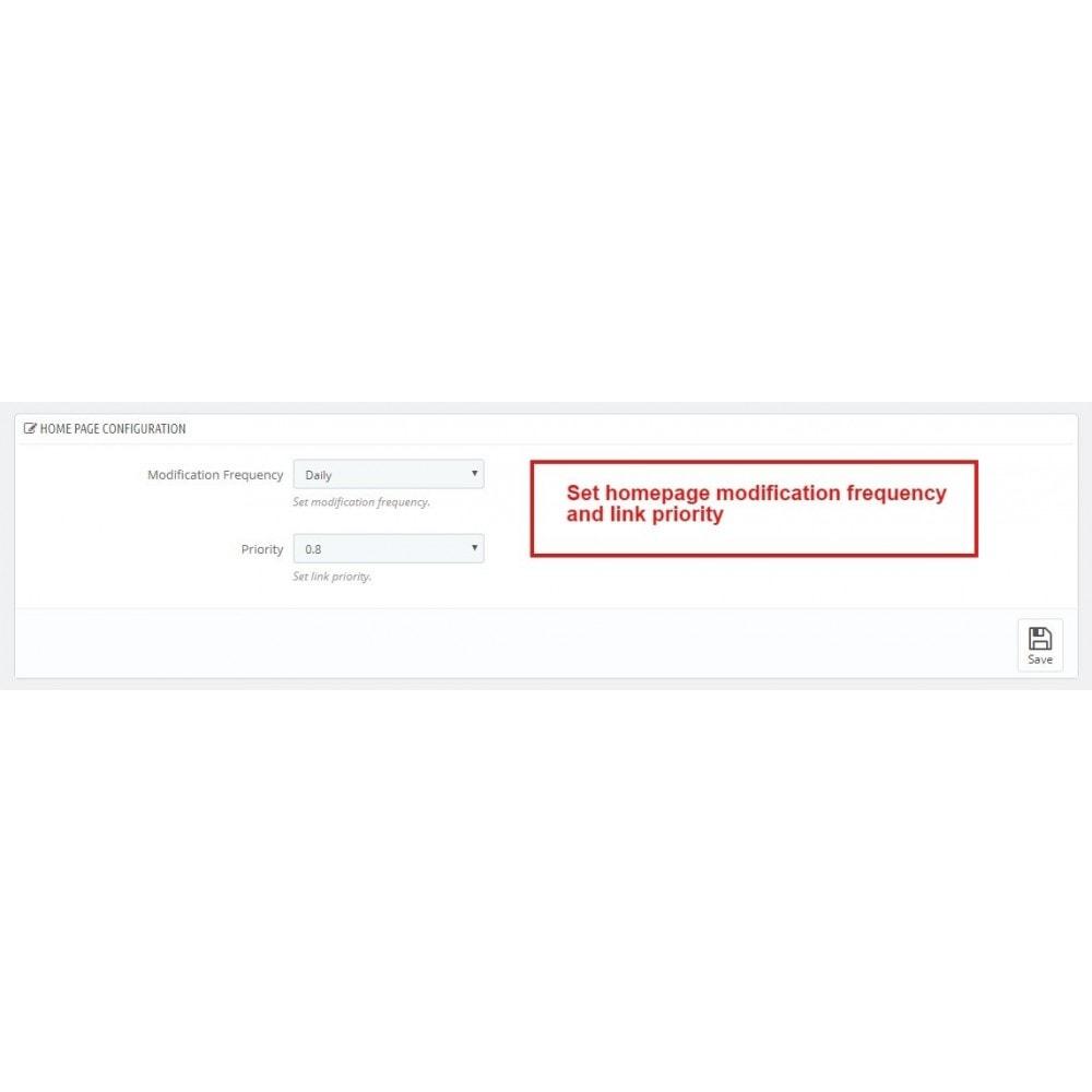 module - SEO (Indicizzazione naturale) - Advance Google SEO (XML & HTML) Sitemap Generator - 7