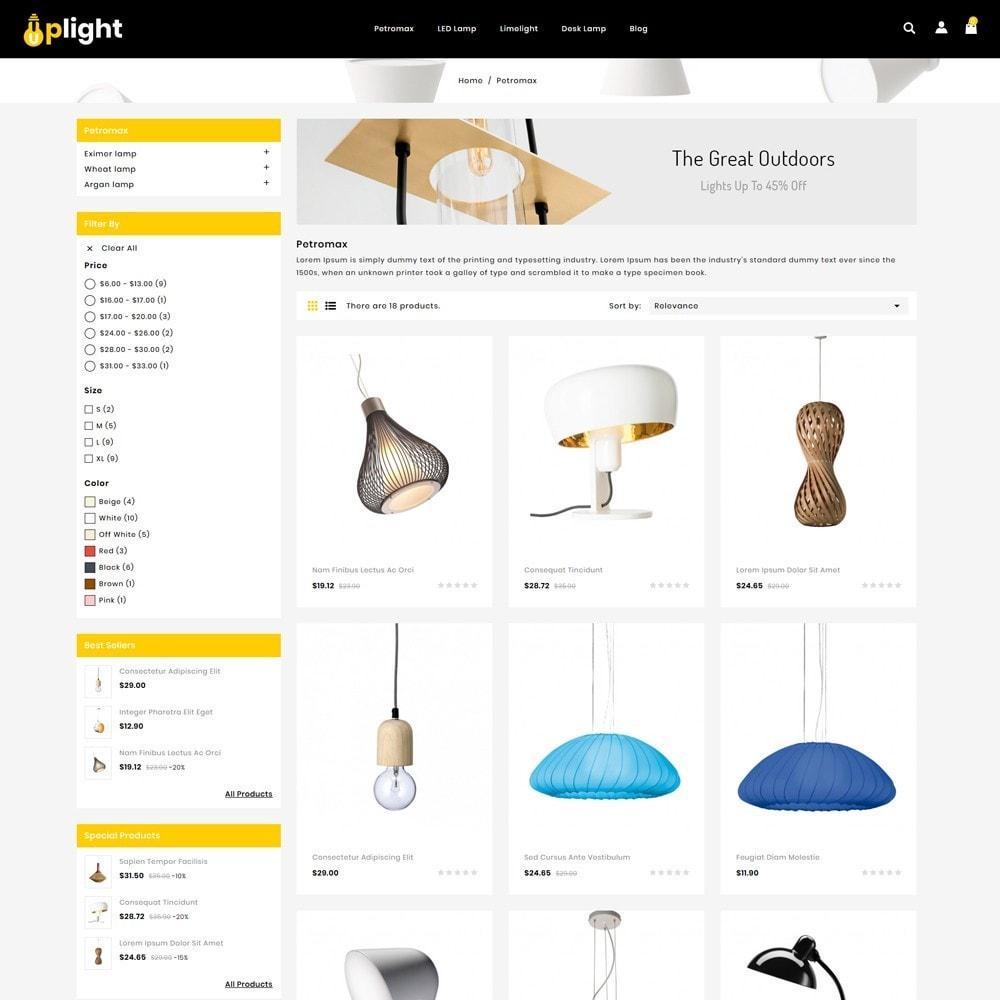 theme - Elektronica & High Tech - Uplight - light Store - 3