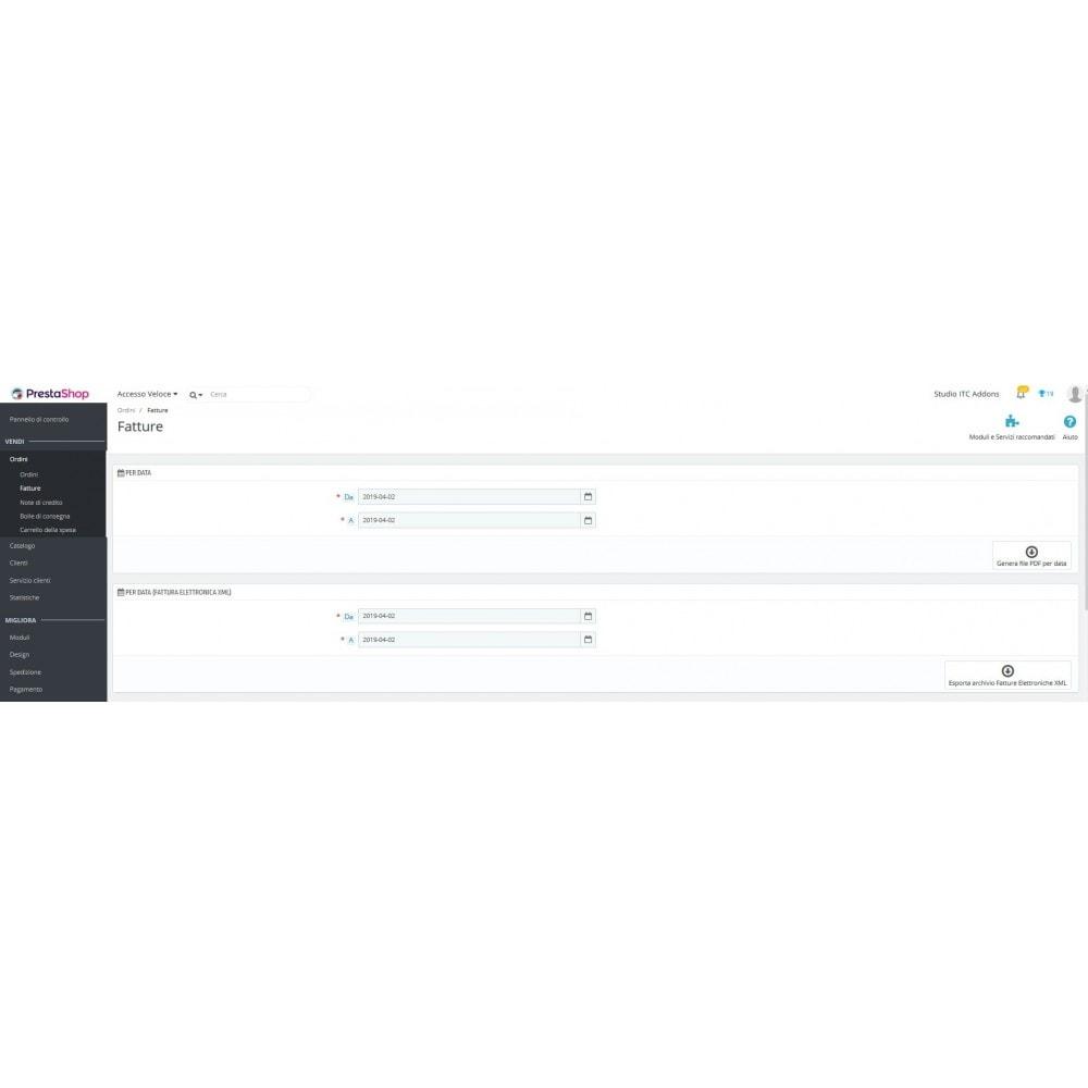 module - Pagamento con Fattura - ITC XML Fattura Elettronica - 12