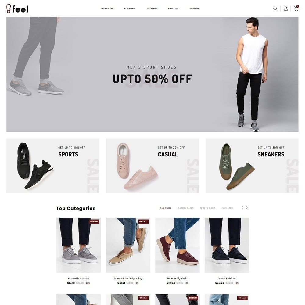 theme - Moda & Calzature - Feel - The Shoe Store - 3