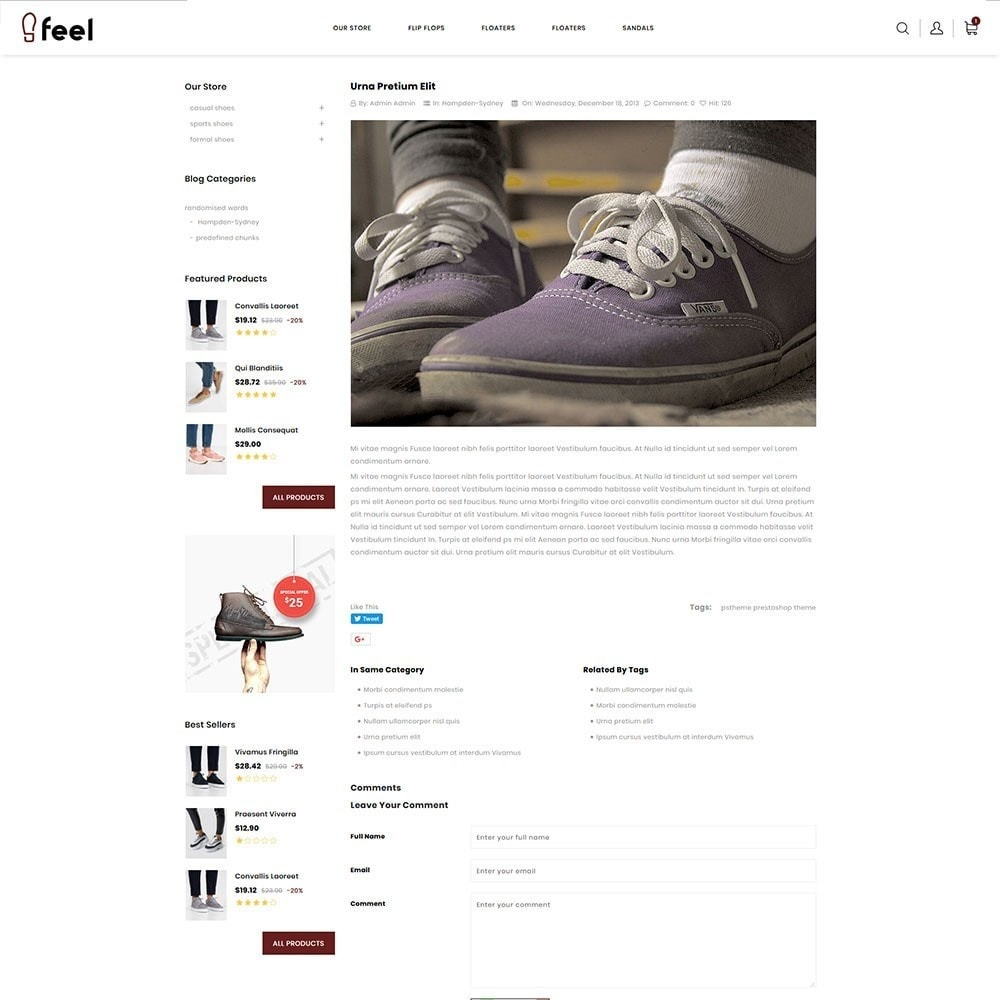 theme - Мода и обувь - Feel - The Shoe Store - 7
