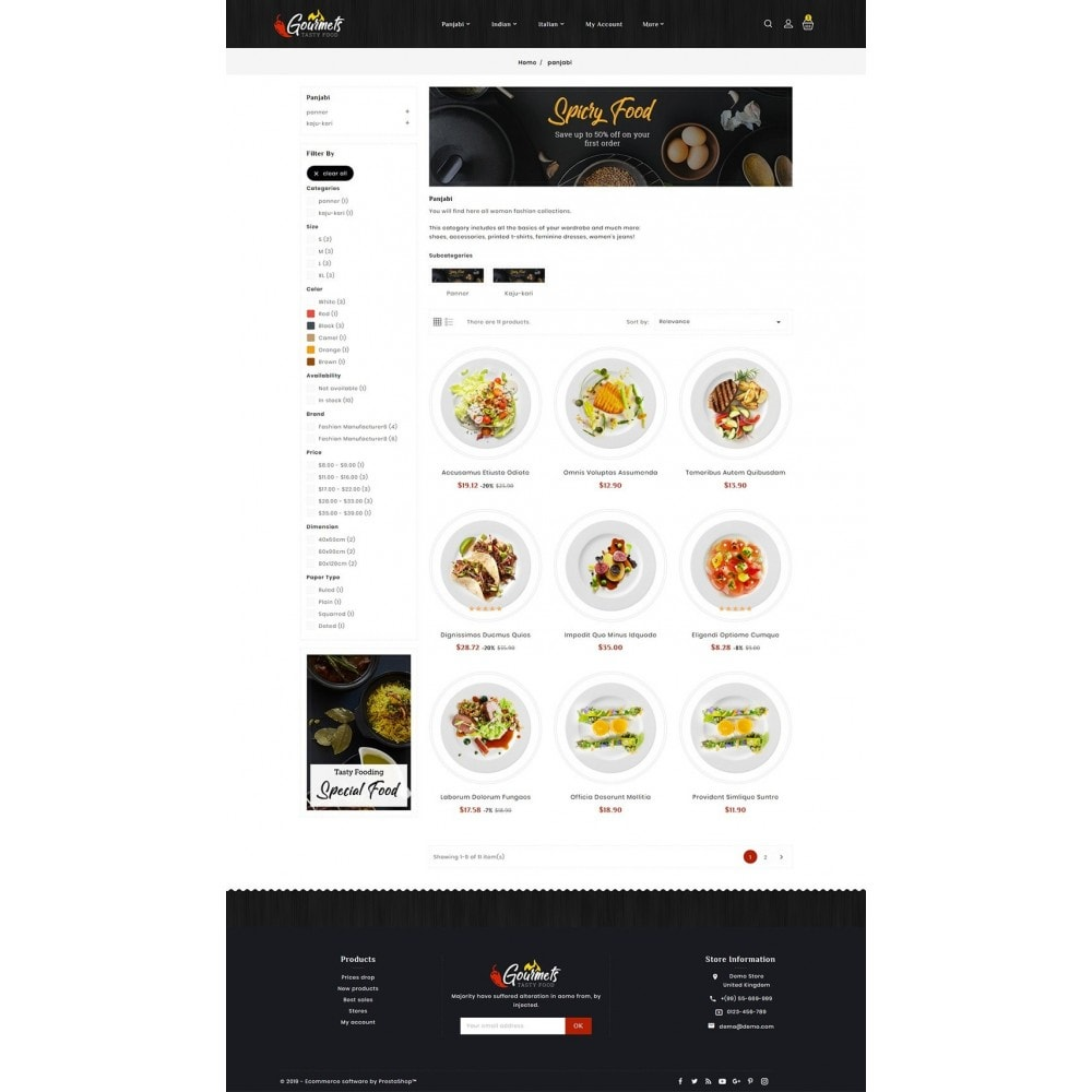 theme - Food & Restaurant - Gourmets - Tasty Food & Dishes - 3