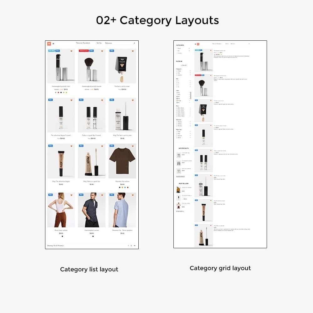 theme - Salute & Bellezza - Leo Aika Fashion & Cosmetic Store - 4