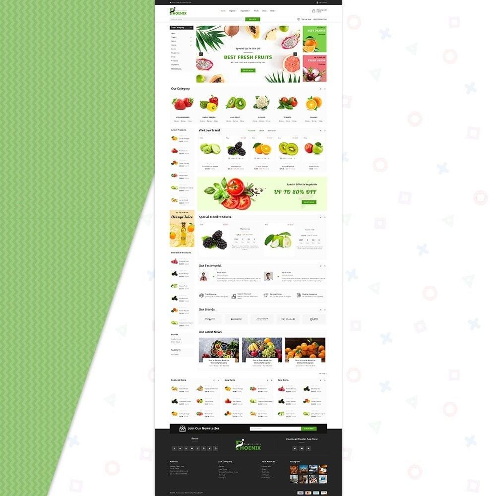 theme - Żywność & Restauracje - Phoenix Organic Big Mall - 2